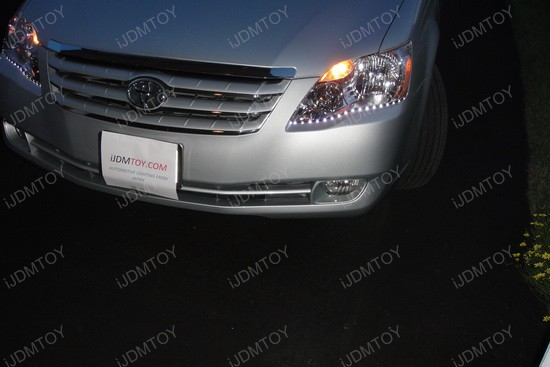 Audi Style Led Strip Lights For Toyota Avalon Headlights